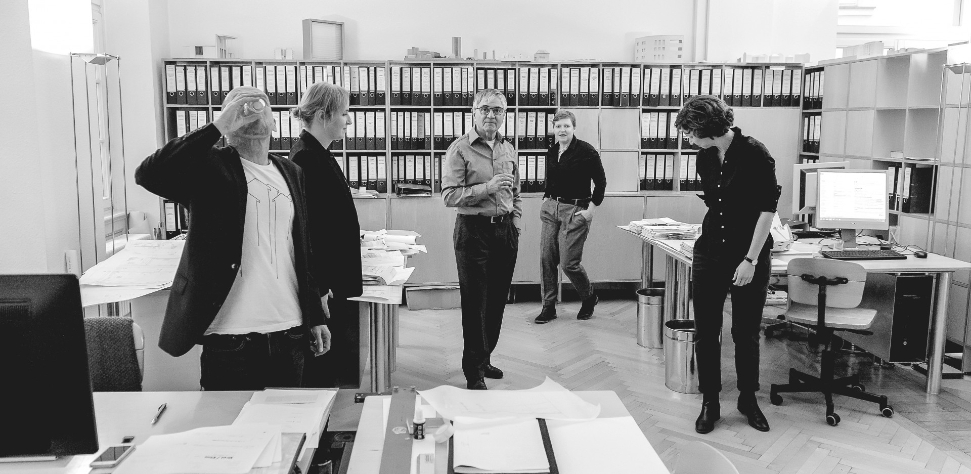 Drei Eins – Architektur- und Stadtplanungsbüro in Frankfurt Über Uns