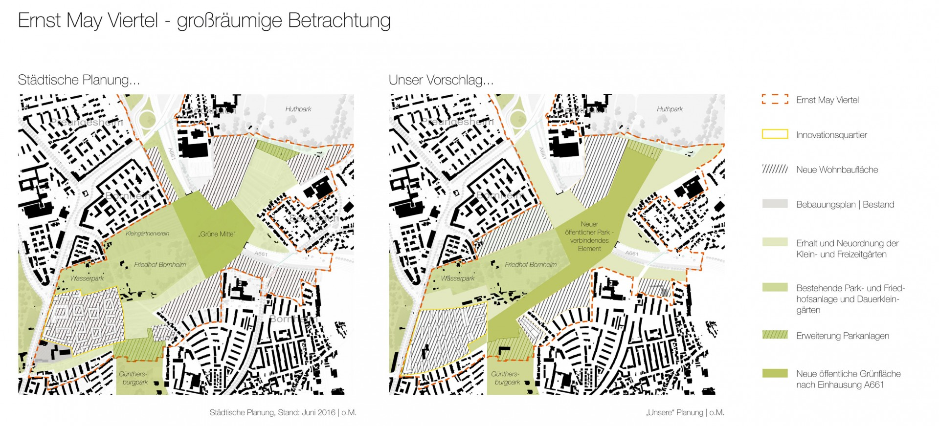 Drei Eins – Architektur- und Stadtplanungsbüro in Frankfurt // Innovationsquartier, Ffm
