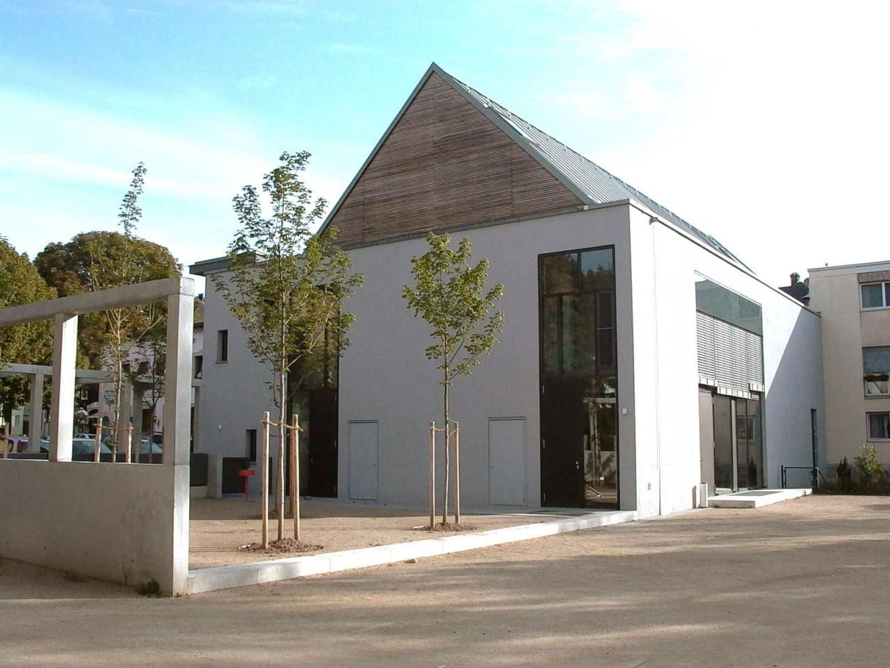 Drei Eins – Architektur- und Stadtplanungsbüro in Frankfurt // Gemeindehaus Bornheim, Ffm
