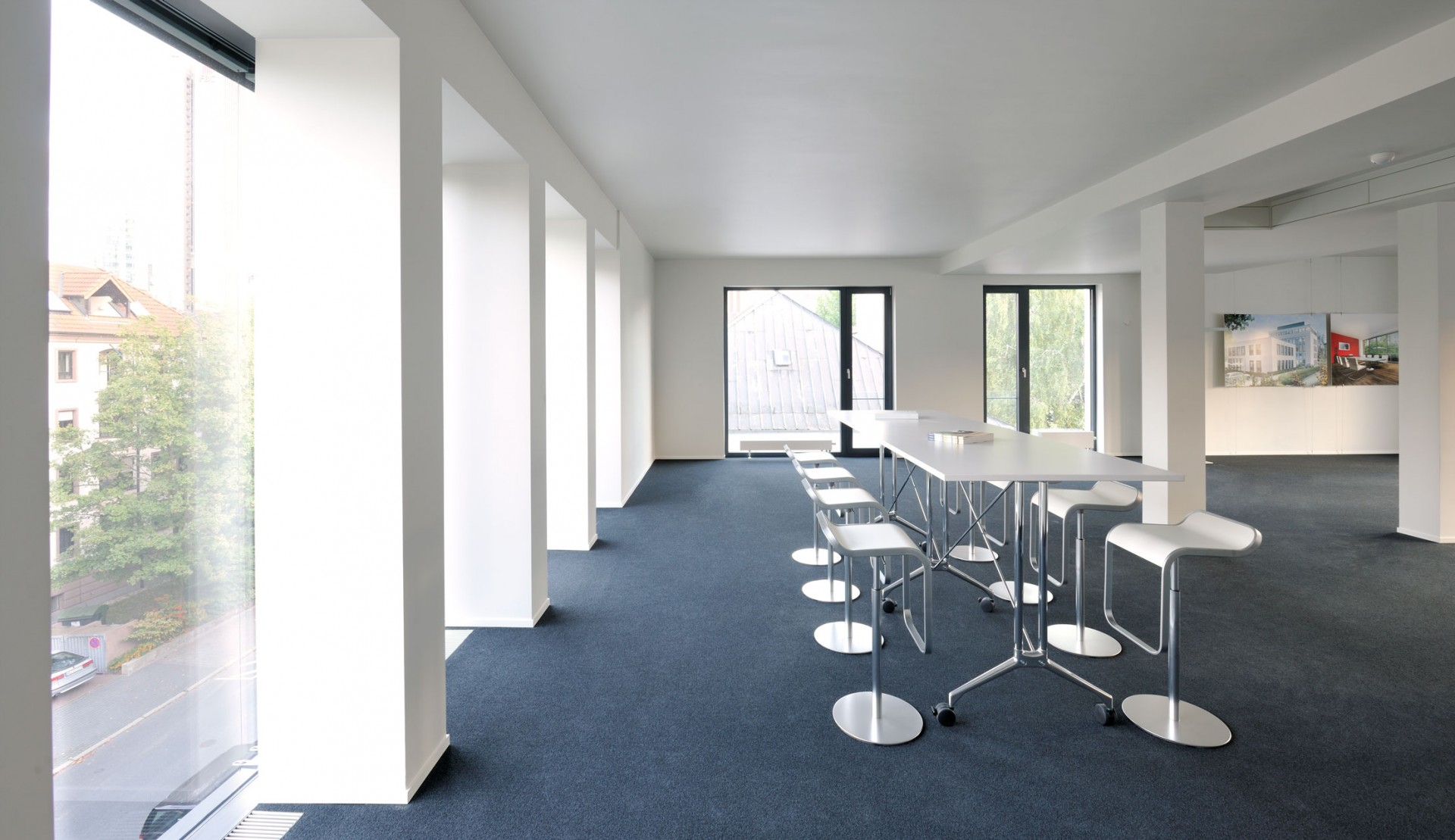 Drei Eins – Architektur- und Stadtplanungsbüro in Frankfurt // Bürohaus Savignystraße, Ffm
