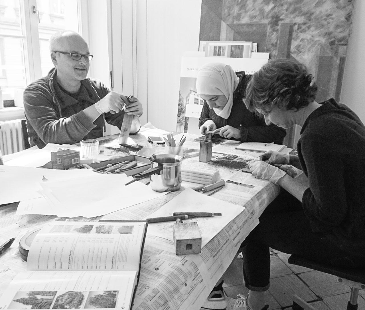 """Drei Eins – Architektur- und Stadtplanungsbüro in Frankfurt Drei Eins """"Schnitzkunst"""""""